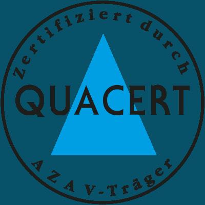 Peart Sprachen ist ein QUACERT-zugelassener AZAV-Träger mit Qualitätsmanagement